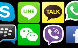 penguasa 100 negara, ini aplikasi chatting android terpopuler