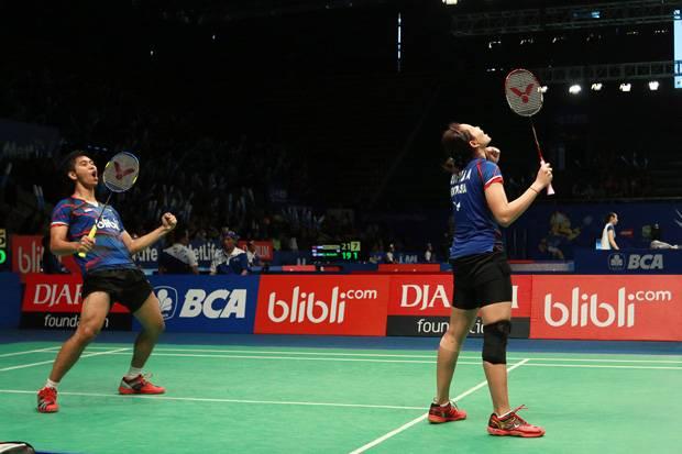 Ganda Belia Indonesia Singkirkan Juara Dunia 2015