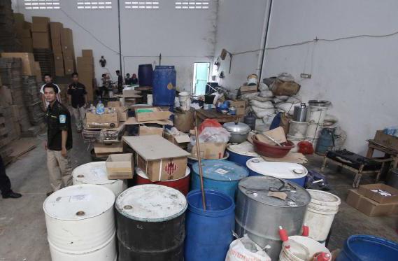 Omzet Pabrik Obat-obatan Ilegal di Tangerang Raih Miliaran Rupiah