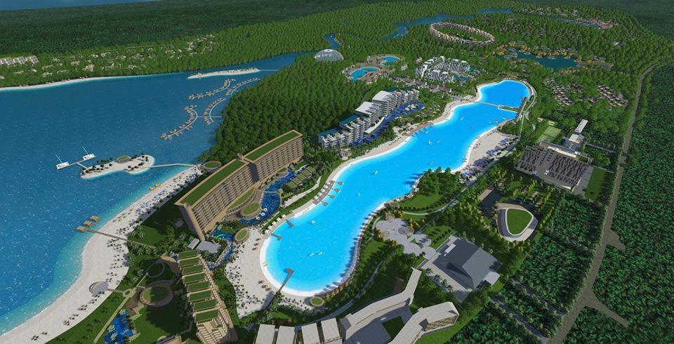 kolam Renang Terbesar Se Asia Tenggara, Lagoi – Bintan, Indonesia