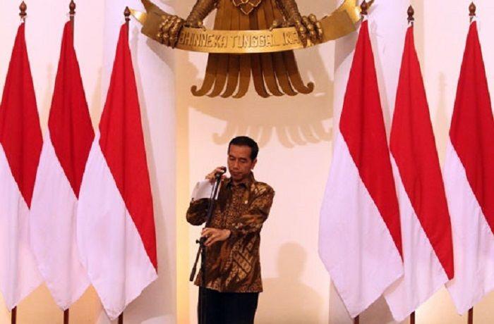 Presiden Jokowi : Waktu dunia galau, kita beruntung punya Pancasila