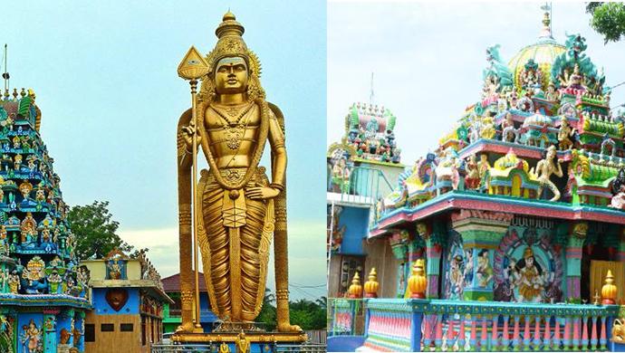 Kuil Shri Raja Rajeshwari berusia Ratusan Tahun di Kabupaten Langkat