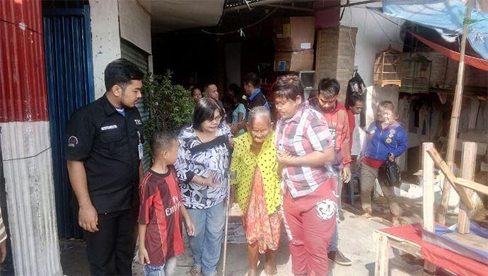 Nenek Yang Dianiaya Cucu Telah Berhasil Diselamatkan