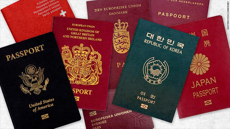 Apa warna passport mu??? beda warna beda negara lho