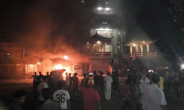 Awal Mula kerusuhan SARA di Tanjungbalai versi polisi