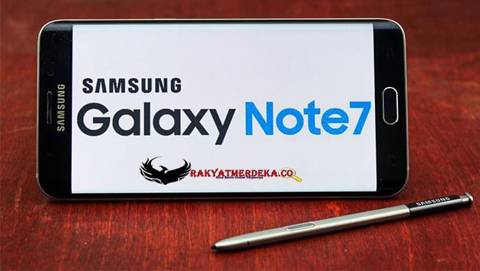 Samsung Galaxy Note 7 Lanching dengan Sensor Mata