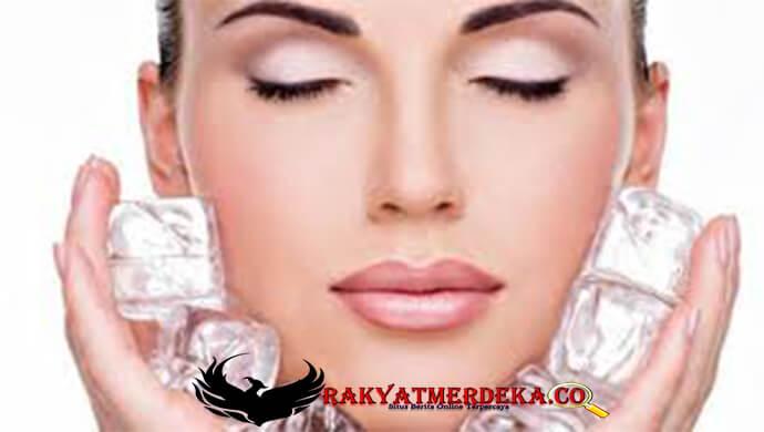 5 Perawatan kecantikan ampuh serta murah meriah dengan air es