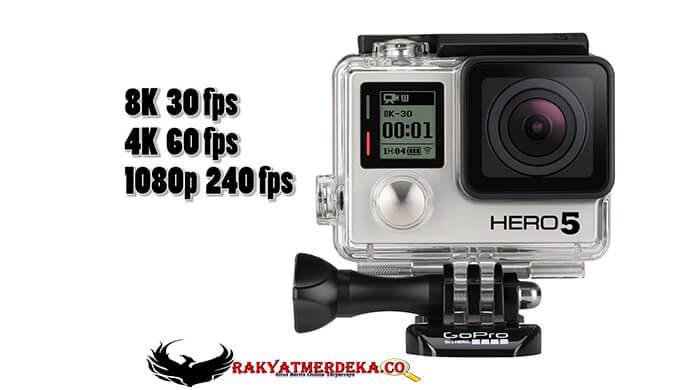 Layar sentuh akan ada di kamera GoPro terbaru