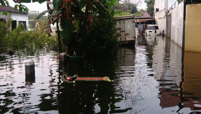 Inilah Salah Satu Penyebab Banjir Diwaduk Rawa Babon