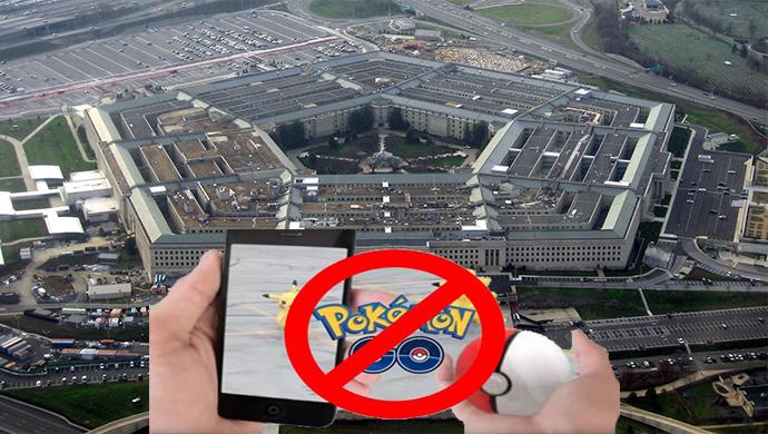 Petangon Keluarkan Larangan Untuk Bermain Pokemon