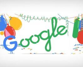 Sesuai Dengan Tradisi Google Rayakan Ulang Tahun Dengan Google Doodle