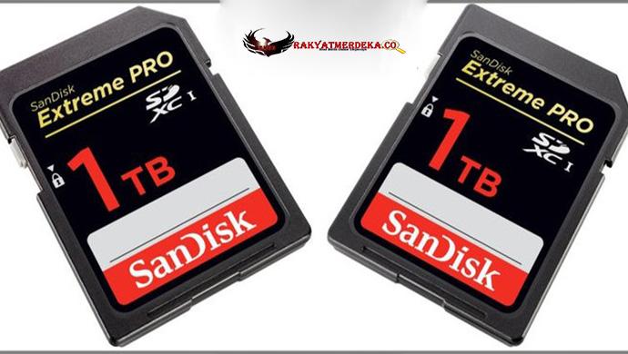 SanDisk Pamerkan Kartu Memori Berkapasitas 1000 GB !