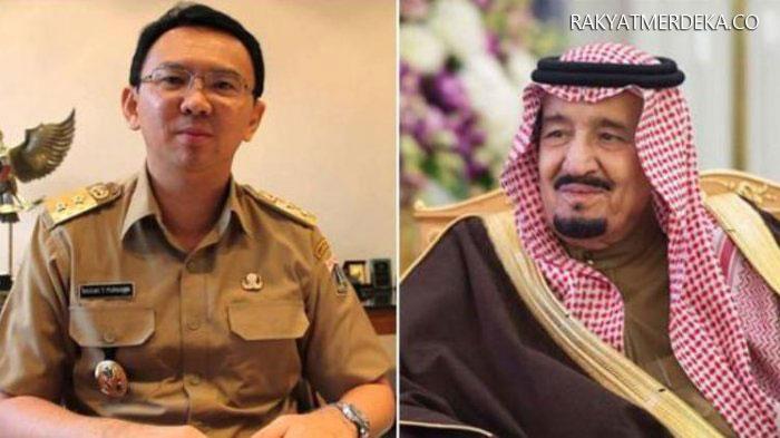ahok bertemu raja arab