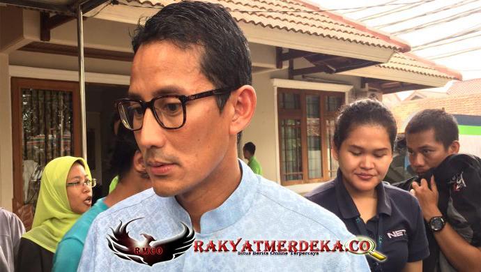 Dinilai Fitnah Ahok, Sandiaga: Jadi Politikus Jangan Cepet Baper-an