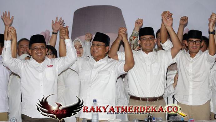 Prabowo Ucapkan Terimakasih Untuk Habib Rizieq