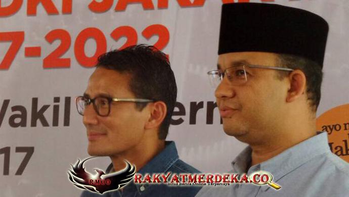 Imbauan Pesan Persatuan Anies-Sandi untuk Warga Jakarta