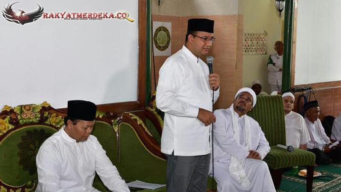Rizieq Syibab: Para Habib Wajib Dukung Anies untuk Pimpin Jakarta