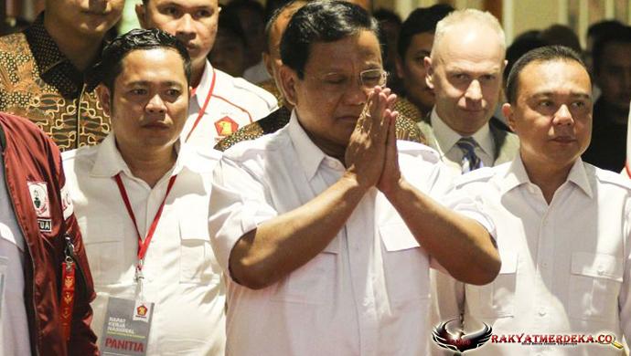 Hasil Rakornas Gerindra, Prawobo Resmi Maju Capres 2019