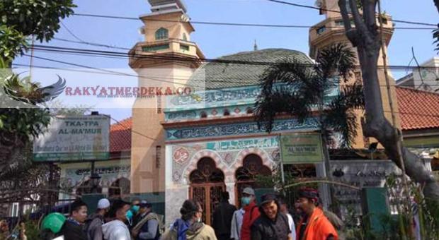 Teriakan di Masjid Al Makmur Tanah Abang