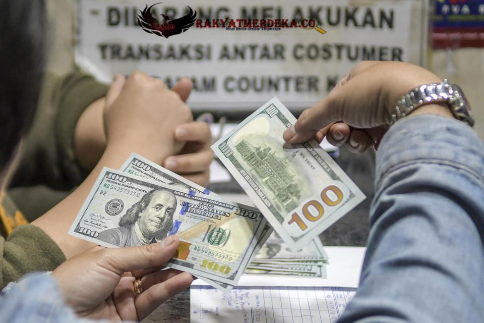 Dolar AS tembus Rp 14.500