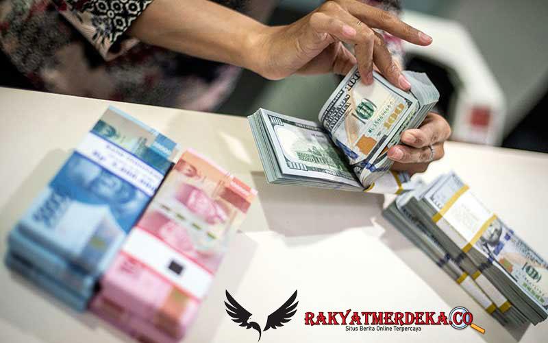 Dolar AS Anjlok, Dekati Rp 16 Ribu