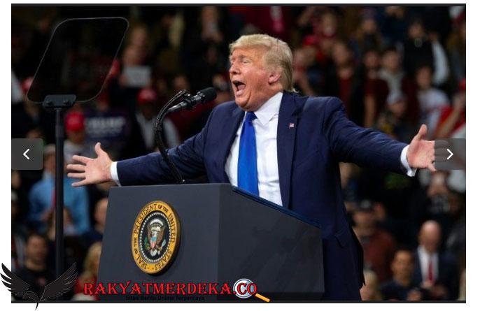 Donald Trump Salahkan Tiongkok, Amerika Dapat Batu
