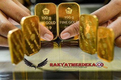 Harga Emas Antam Makin Melayang Tinggi