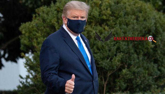 Masuk RS karena Positif Covid-19, Trump: Saya Kira Saya Baik-baik Saja