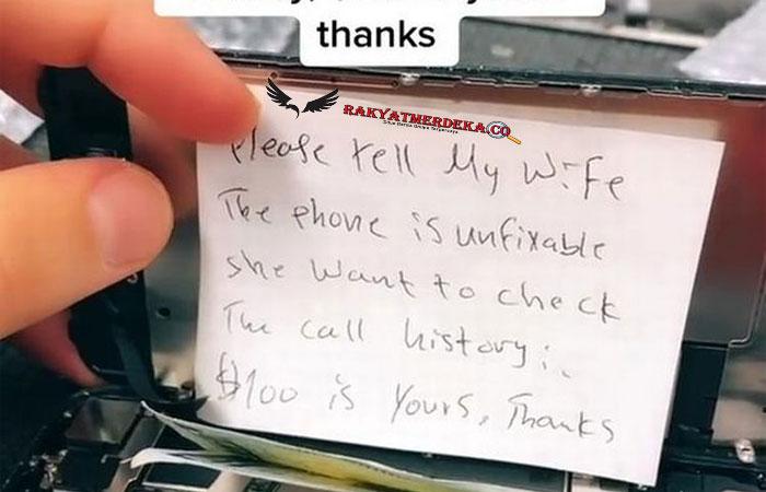 """""""Tolong Bilang Istri Saya, Telepon Ini Tidak Bisa Diperbaiki"""""""