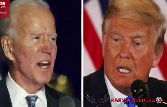 Geram! Joe Biden Sebut Donald Trump Memalukan