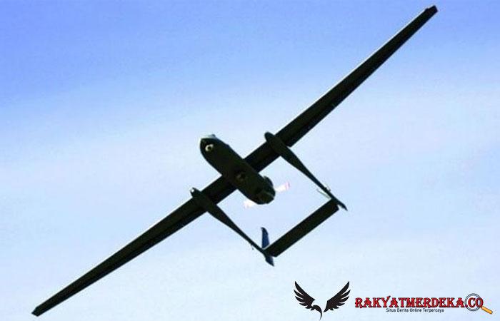 China Gunakan Drone Pelontar Api untuk Basmi Sarang Tawon di Sebuah Desa