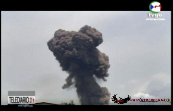 4 Ledakan Beruntun Mengguncang Sebuah Kamp Militer, 600 Orang Luka, 20 Tewas